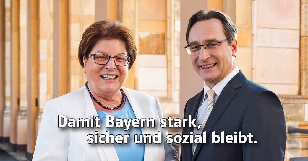 Barbara Stamm und Andreas Lorenz